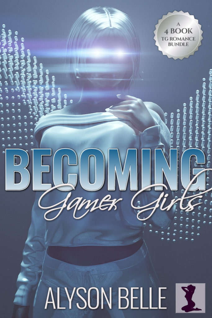 Becoming Gamer Girls: A 4-Book Gender Swap TG Romance Bundle